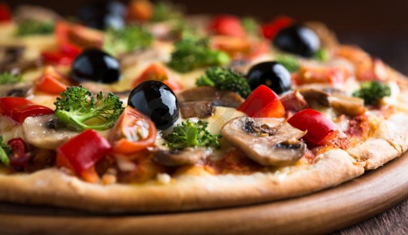 Вегетарианска ръжена пица