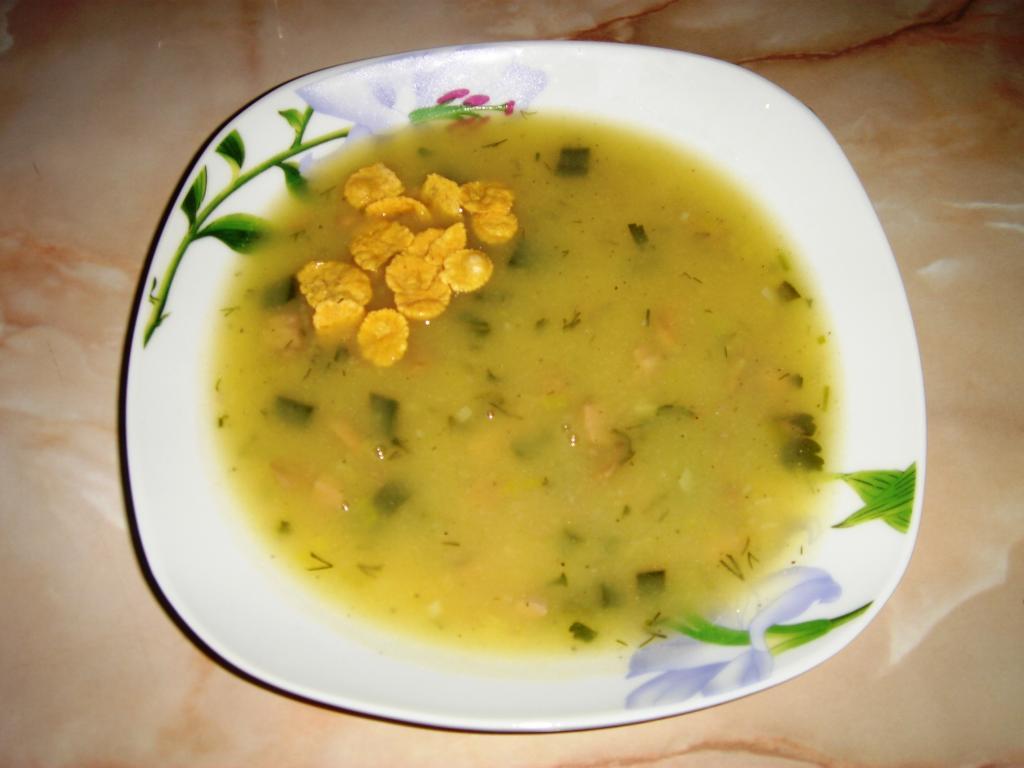 Картофена супа с бекон и гъби