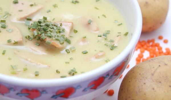 Супа от риба и карфиол