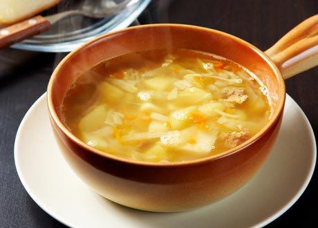Супа (борш) с кренвирши