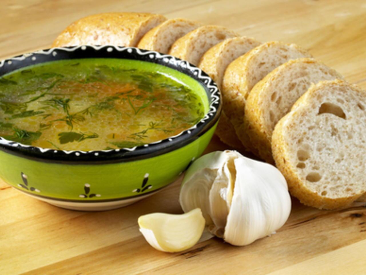 Зеленчукова супа с телешко месо