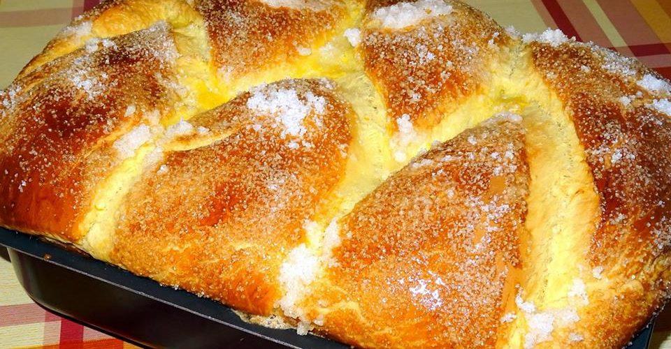 Рецепта за Традиционен великденски козунак