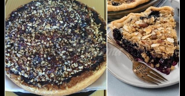 Дамски пирог със сладко и орехчета – нежна симфония от мек пълнеж и хрупкава коричка: