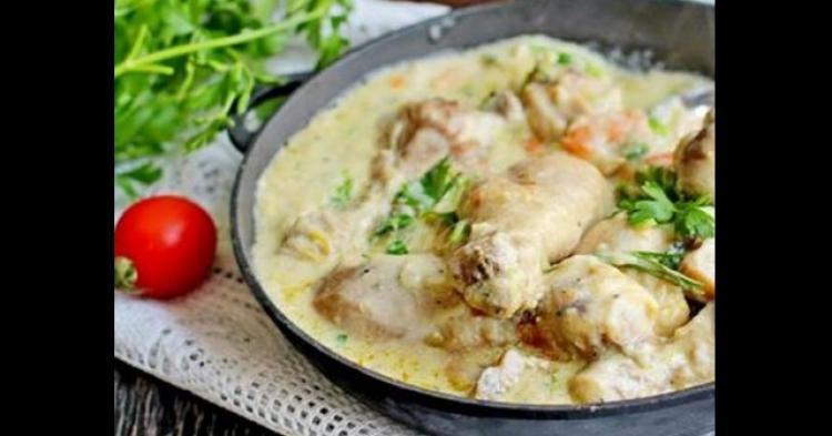 рецепта за пиле фрикасе
