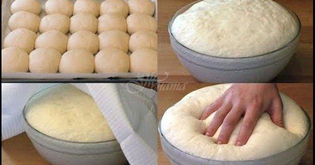 Най-пухкавото тесто, без яйца и мляко. Питка, милинки, пица, пайове – става за ВСИЧКО!