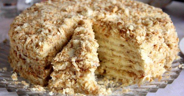 торта наполеон