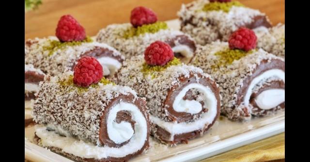 Турската бисквитена сладост Сарай сарма, която ще ви подлуди с вкуса си! Рай за небцето и окото: