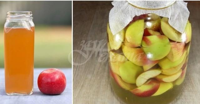 Безотказна домашна рецепта за ябълков оцет – и за лек, и за зимнина, и за салатка!