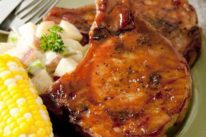 Рецепта за крехки Мариновани пържоли на фурна