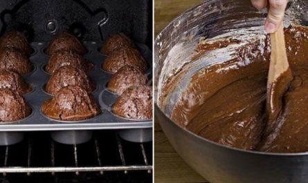 шоколадови кексчета