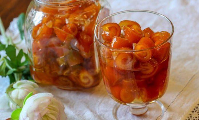 Уникално домашно сладко на къдрички от портокалови корички – и за палачинки, и за сладкиши, и направо с лъжицата