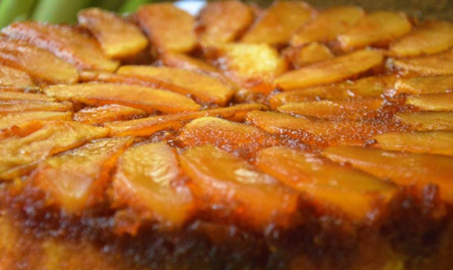 Най-лесната рецепта за обърнат ябълков пай