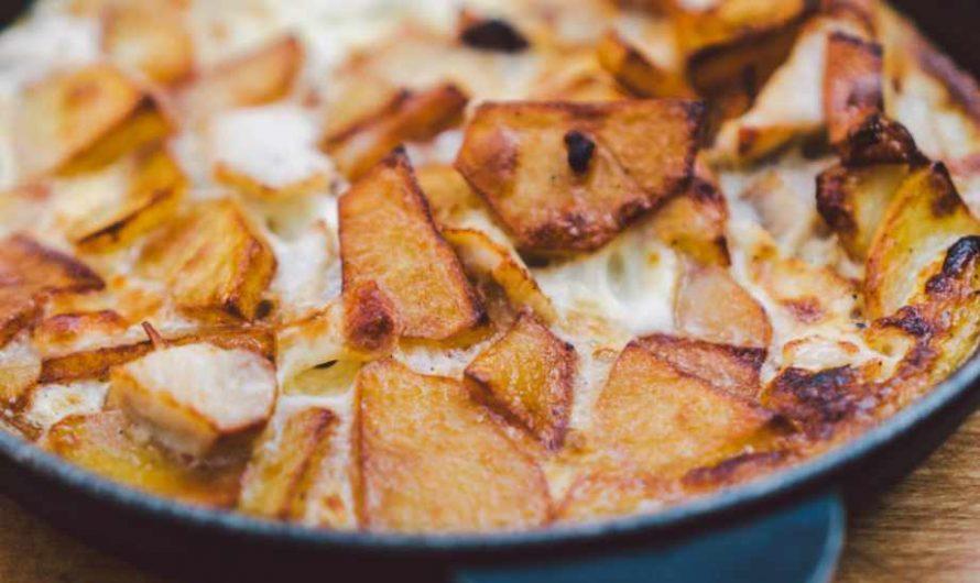 Вкусна рецепта за печени картофи по сръбски