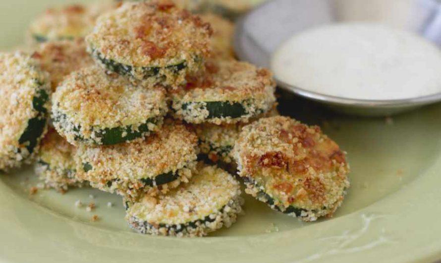 Идеалната вечеря за заети домакини: Панирани тиквички на фурна