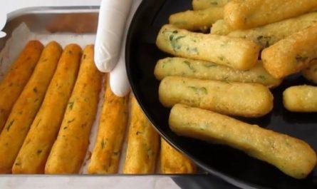 картофени пръчици