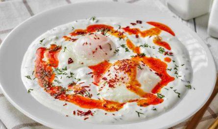 манджа с яйца