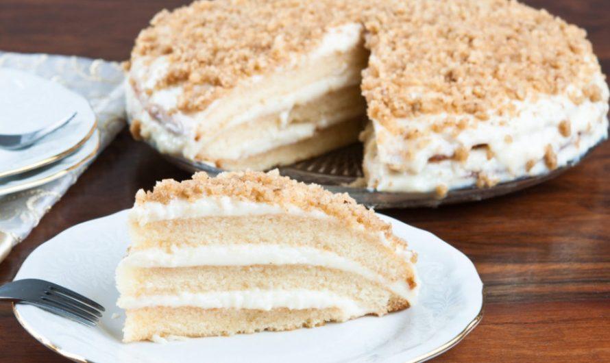 Домашна орехова торта по стара рецепта