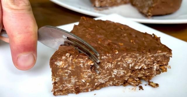 ЗДРАВОСЛОВНА шоколадова торта от 3 съставки