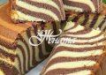 кекс зебра